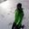 Tiny profile pic snow falling moment 8